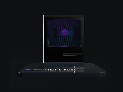 Polyient Games - 3D Illustration blockchain branding 3d illustration