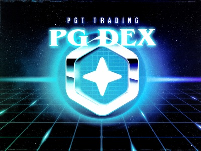 Polyient Dex — Governance Token Annoucment governance vintage neon retro blockchain