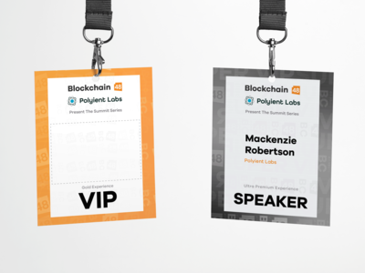 Blockchain48™ Event Badges