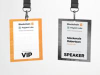 Blockchain48™ Event Badges