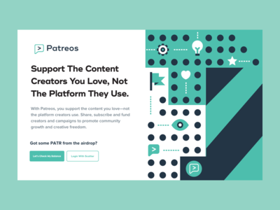 Snapshot of the Patreos Site