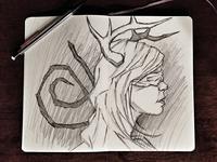 True Detective Sketch
