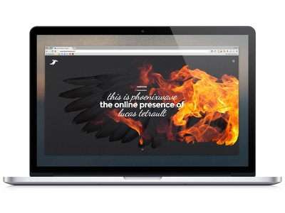 Portfolio Website Update portfolio personal website graphic design fire phoenix presence digital work case studies