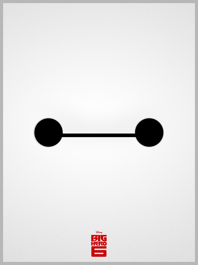 Baymax poster low