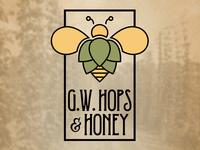 G.W. Hops & Honey Logo