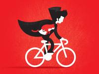 A Boy Bikes
