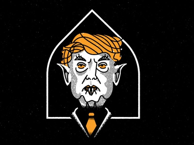 Trumpferatu never election 2016 creature vampire nosferatu trump horror