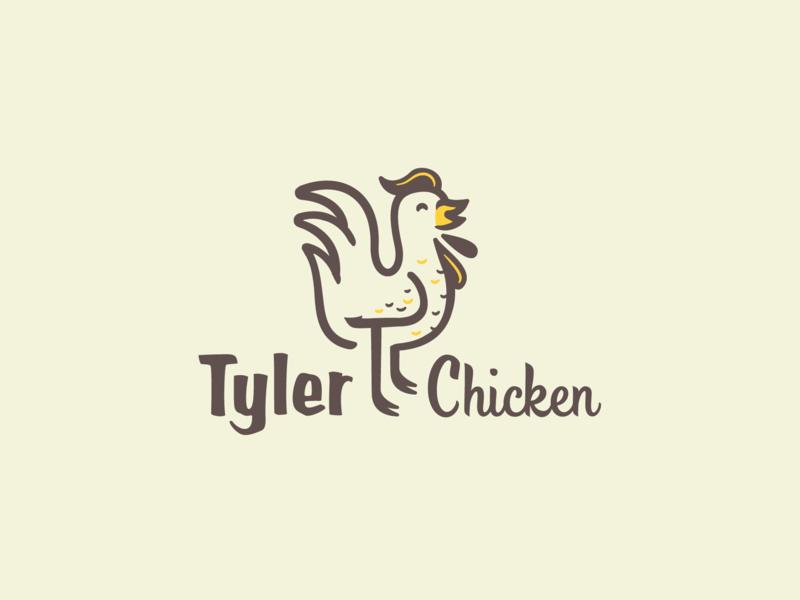 Tyler Logo logo chicken