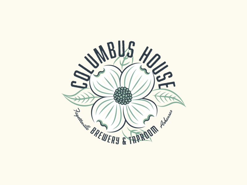 Columbus House Shirt loval brewery arkansas fayetteville dogwood beer craft beer