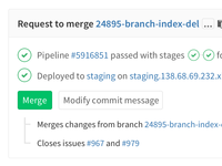 GitLab Merge Request Redesign