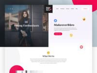 MakeOverBuro - Homepage