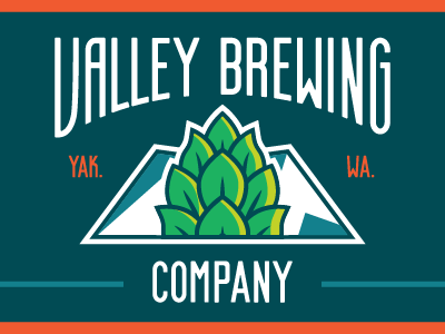 Valley Brewing brewing mountains hops