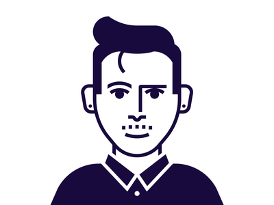 Personal Icon self portrait personal brand character icon