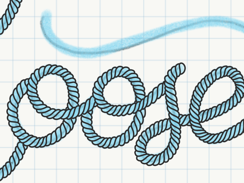 Rope Type WIP adobe draw typography lettering rope wip