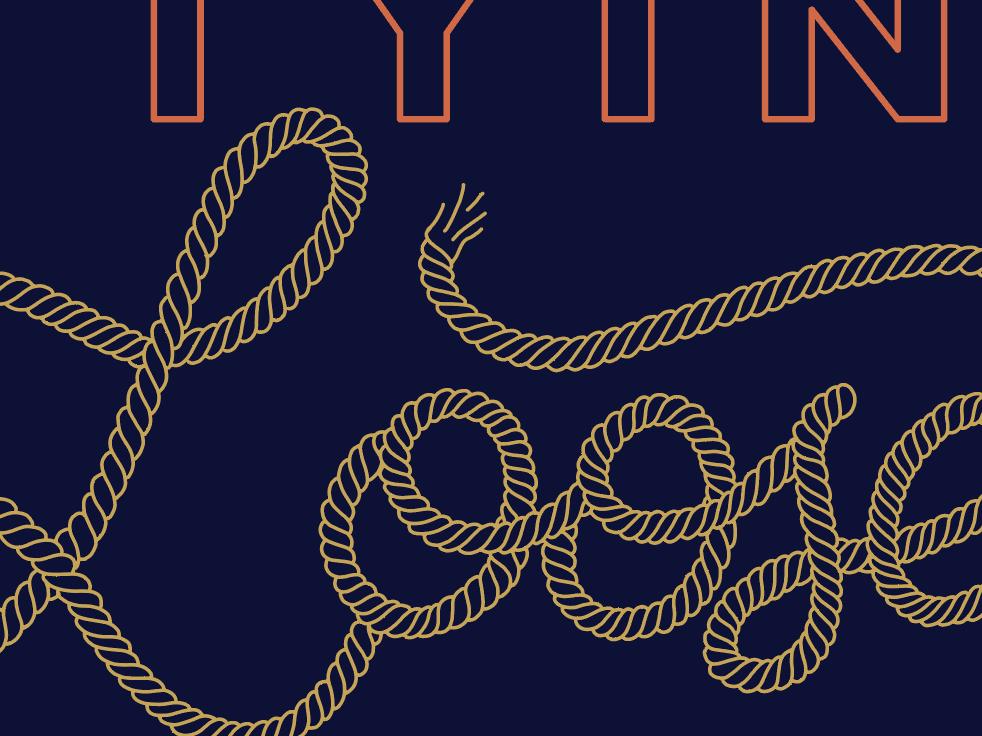 Rope Type WIP wip string lettering typography rope