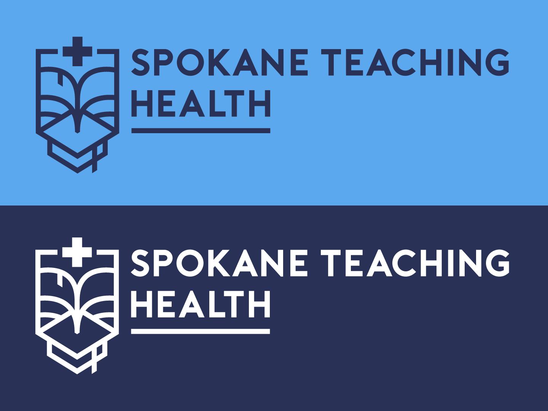 STH Logo teaching health center academic crest logo health teaching spokane medical