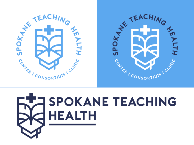 STH Logo media teaching health centr clinic logo academic health teaching spokane medical