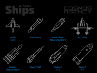 Spaceships Icons