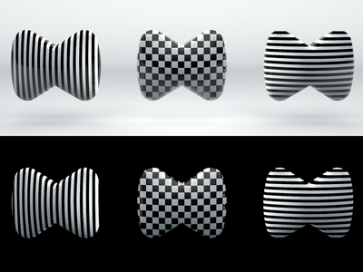 Ⓜ️'M' symbol — 3d and pattern, ver. 03 chess stripes pattern render 3d icon symbol logo letter m