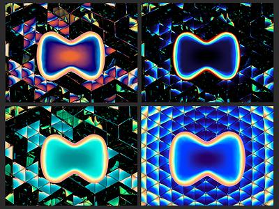 Ⓜ️'M' symbol — 3d reflections, ver. 04 render letter logo mirror symbol m reflections cinema 4d
