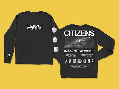 Citizens LS Tee bitmap type band tee band music clothing design clothing brand clothes branding design shirt long sleeve ls merchandise design merchandise merch