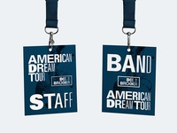 American Dream Tour Collateral