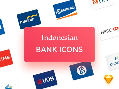 Indonesian Bank Icons [FREE DOWNLOAD]