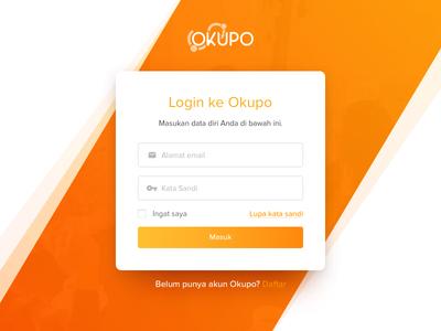 Sign Up Okupo