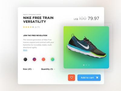 Nike Free Train Versatility - Single Product