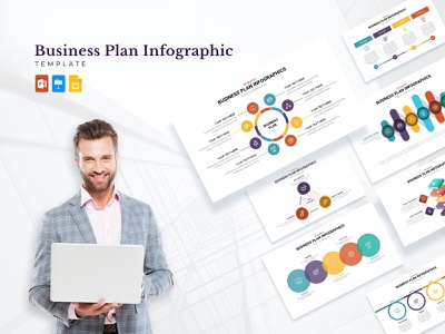 Business Plan PowerPoint Template templates illustration ppt slides design presentation slides powerpoint design presentation template keynotes google slides graphic design