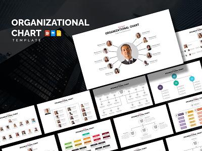 Organizational Chart Infographic Template animation motion graphics graphic design template