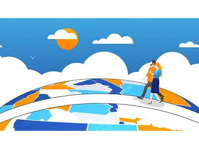 Teamwork Animation team animation animated objects udesignate logo animation animated logo corporate animation corporate teamwork animation teamwork ui illustration design ae after effects motion graphics logo graphic design branding animation