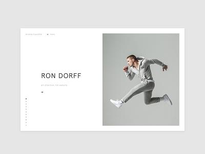 Portfolio update : RON DORFF portfolio e-commerce ecommerce sport fashion art direction design ui ux ron dorff