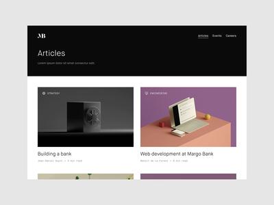 work.margo.com - Articles