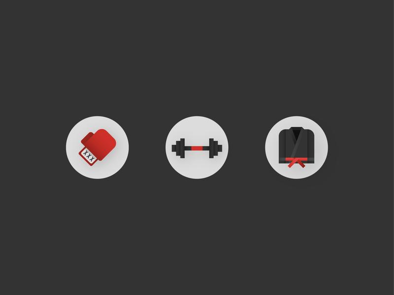Dojo Icon Concept website vector web app ui icon illustrator branding flat design