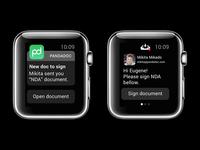 PandaDoc for Apple Watch