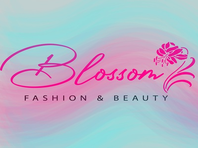 Beauty logo concept in water color style branding beauty logo fashion design watercolor art logo illustrator vector minimal graphic design clean design