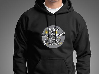 typography hoodie concept merchandise merchandise design clean vector logo design branding illustrator fashion design graphic design