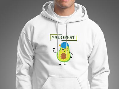 Festival hoodie concept branding illustrator merchandise art logo vector merchandise design fashion design clean graphic design