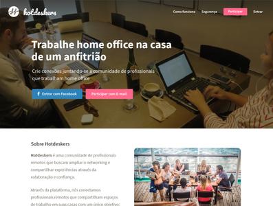 Hotdeskers - Homepage