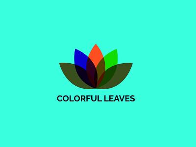 Leaf logo color leaf vector ui logo illustration icon graphic design design company branding app