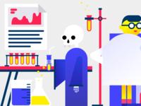 Skeleton in Lab