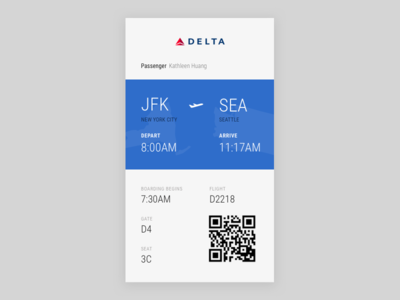 024 Boarding Pass travel airport flight boarding pass daily ui