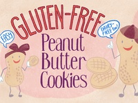 Peanut Butter Cookie Illustrated Recipe