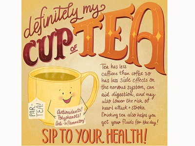 Definitely My Cup of Tea Infographic