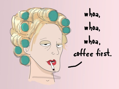 Coffee First Curlers