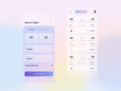 Flight Booking App app ui app designer ui ux southtech airways system tricket app airline app tricket booking flight search flight app booking app design app flight booking