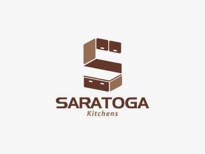 Saratoga Logo s kitchen