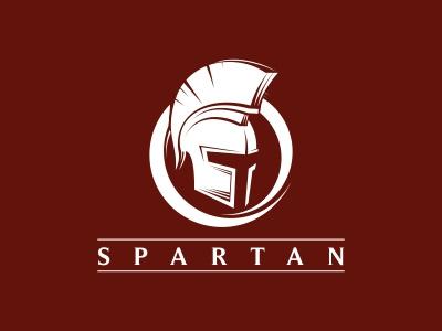 Spartan Logo helmet spartan gladiator