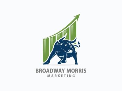 Bull Marketing Logo logo marketing bull